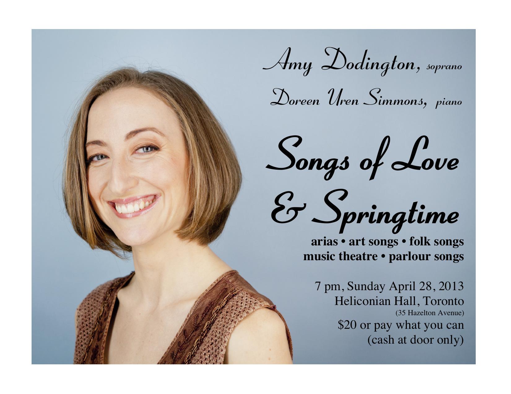 Amy Dodington, Soprano